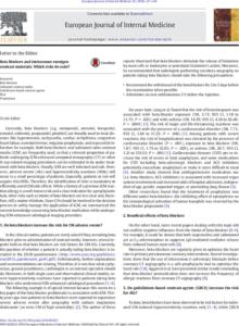 European Journal of Internal Medicine